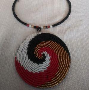 African Handmade Necklace